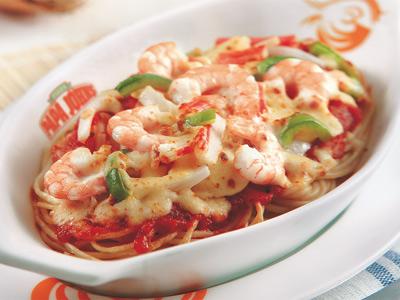 Papa's Seafood Pasta