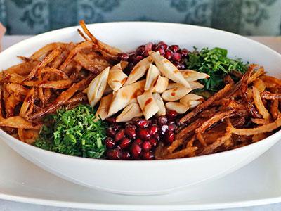 Warm Lentil Salad Bowl