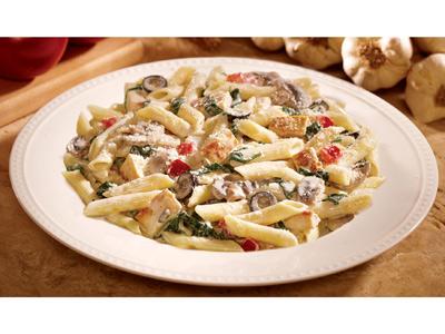 Pasta Chicken Florentine