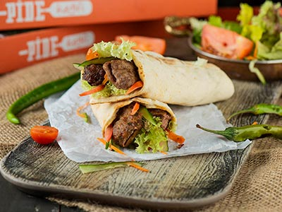 Urfa Kabab Wrap