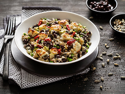Quinoa & Halloumi Salad