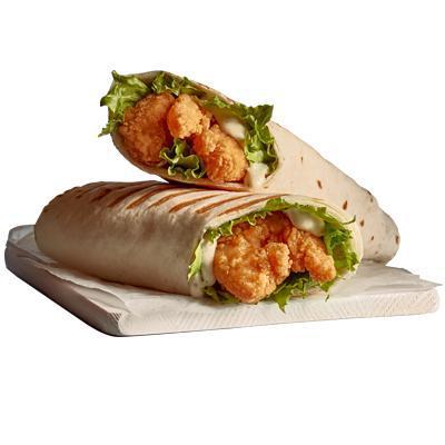 Shrimps Wrap Sandwich - Original