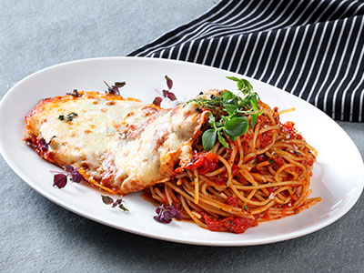 Chef Russo's Signature Chicken Parmesan