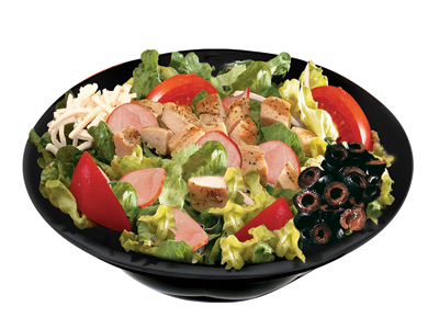 Papas Club Salad