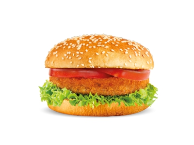 Vegetable Burger Sandwich