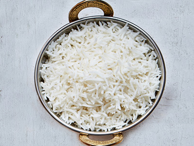 Khile Hue Chawal White Rice