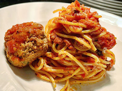 Kid's Spaghetti & Meatballs