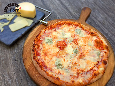 Large Quattro Formaggi (four Cheese) Pizza