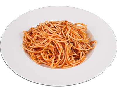 Spaghetti With Ground Beef
