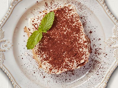 In House Daily Made Tiramisu