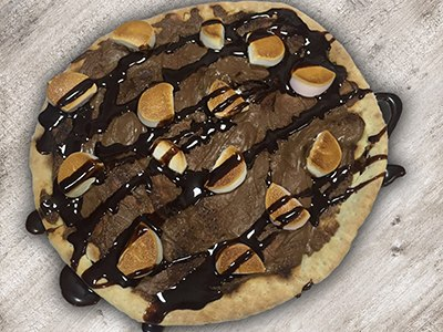 Small Chocolate Pizza