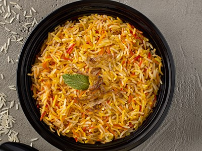 Vegan Biryani Rice