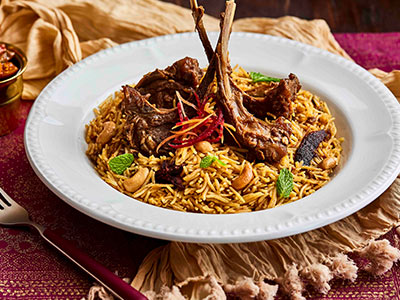 Mutton Bohri Champ Biryani