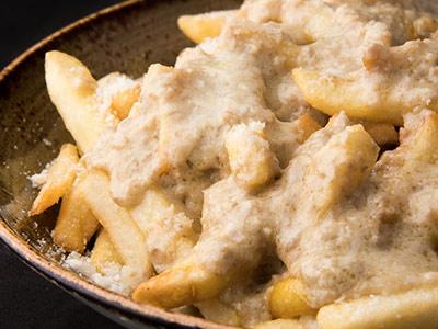 Truffle Fries With Truffle Mushroom