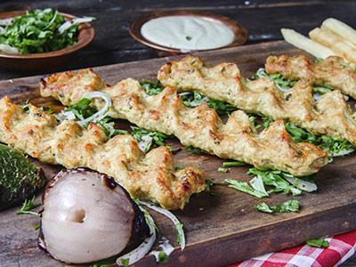 Chicken Kabab Dish