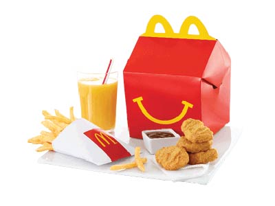 Chicken Mcnuggets (4pc) Happy Meal