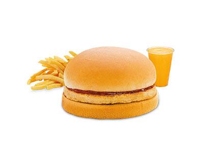 Kids Vegetable Burger