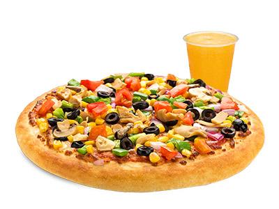 Kids Vegetable Pizza