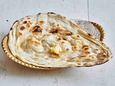 Makhani Naan - Butter Naan