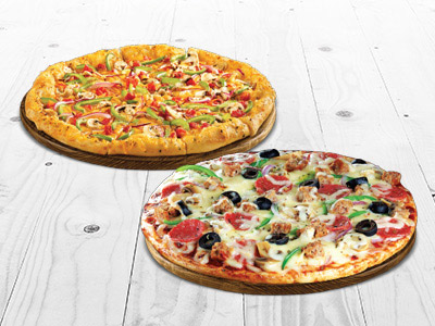 Pizza Twin Meal - Any 2 Medium Pizza